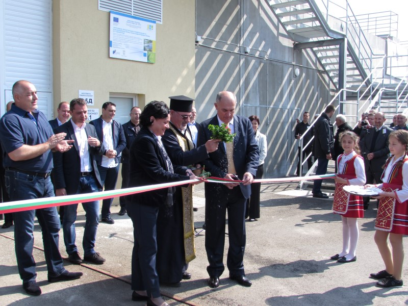 WWTP - Svilengrad was officially opened
